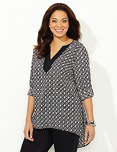 Edgewater Hi-Low Blouse