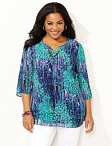 Whimsy Waterfall Blouse