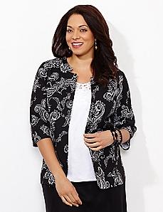 Linework Linen Jacket