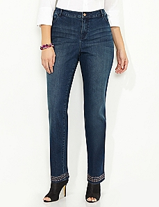 Jewelshine Crop Jean