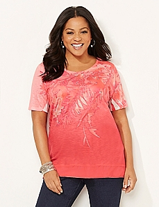 Palm Persuasion Top