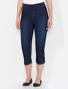 Yoga Denim Capri