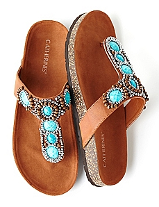 Color Burst Sandal