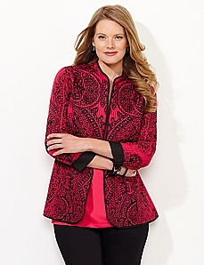 Regal Paisley Reversible Jacket