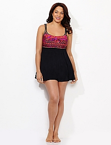 Tribal Tempt Swimdress