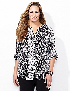 Paradise Palm Blouse