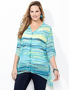 Brushstroke Blouse