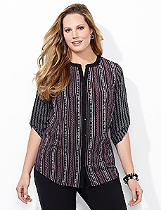 Twin Print Blouse