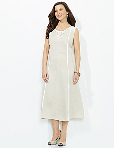 Fresh Linen Dress