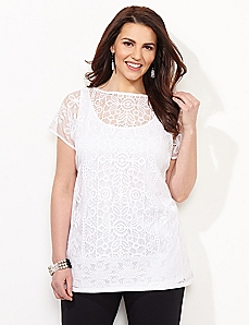 AnyWear Sonnet Lace Tunic