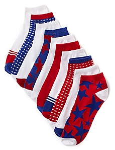 Stars & Stripes 10-Pack Socks