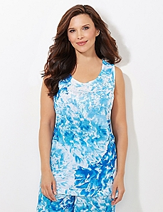 Calming Bloom Sleep Top
