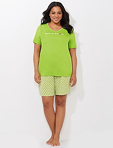 Push My Buttons Pajama Set