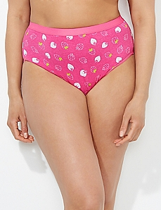 Berry Sweet Cotton Hi-Cut Brief