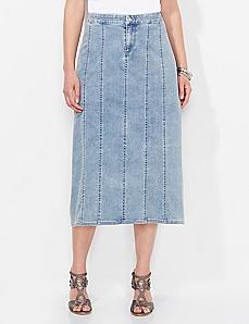 Odessa Denim Skirt