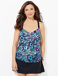 Into The Wilderness Swim Top