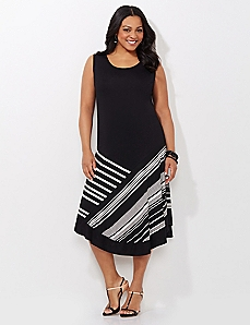 Stripe Simplicity Dress