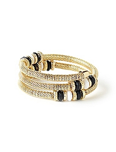 Cleopatra Coil Bracelet