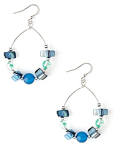 Ocean Crest Earrings
