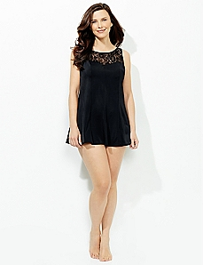 Royal Lace Swimdress