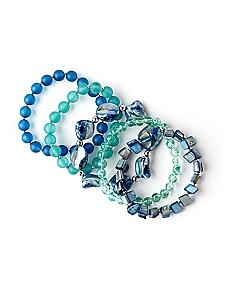 Ocean Crest Bracelet Set