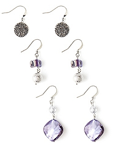 Laguna Shell Trio Earrings