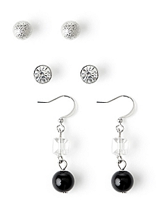 Posh & Poised Trio Earrings