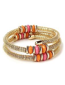 Colorwheel Coil Bracelet