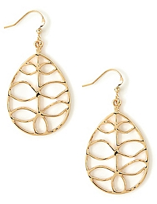 Foliage Frame Earrings
