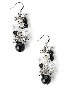 Dusted Cluster Earrings