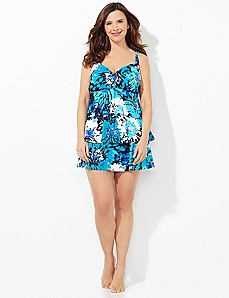 Chicory Blossom Swimdress