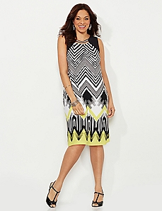Montauk Chevron Dress