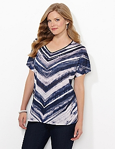Wave Stripe Top