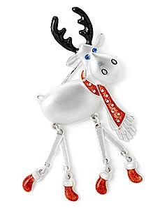 Merry Moose Pin