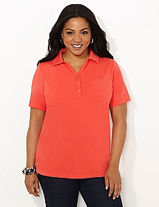 Suprema Buttonfront Polo