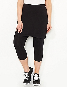 Active 2-In-1 Skirt Capri