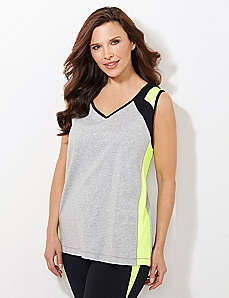 Neon Piped Top