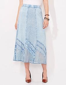 Grecian Silhouette Skirt