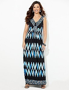 Chevron At Dawn Maxi