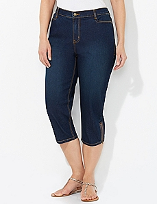 Secret Slimmer® Zip Capri