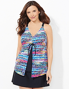 Light & Bright Flyaway Swim Top