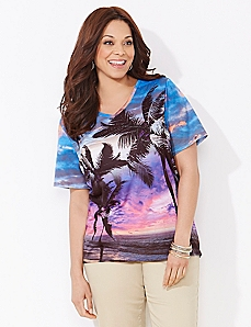 Molokai Magic V-Neck