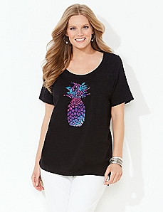 Tropical Pineapple Tee
