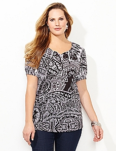 Prestige Pattern Top