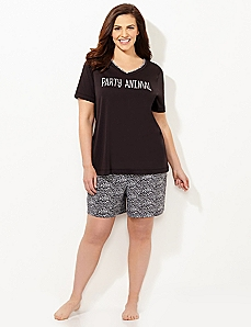 Party Animal Pajama Set