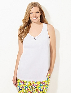 Beach Life Tied Sleep Tank