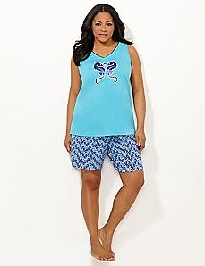 Seahorse Pajama Set