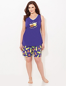 Pineapple Paradise Pajama Set
