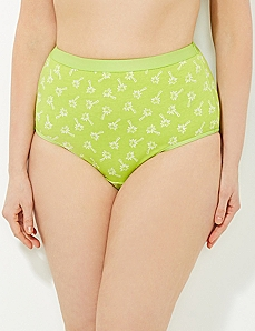 Palm Tree Paradise Cotton Full Brief