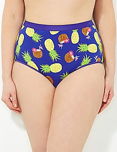 Pineapple Paradise Cotton Full Brief